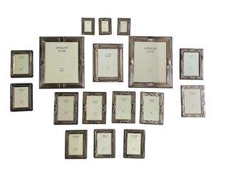 Assortment of Godinger Silver Picture Frames