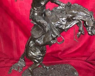 Remington reproduction bronze