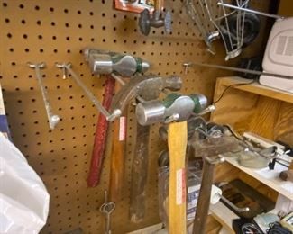 Lots of hammers