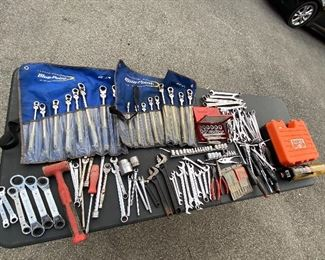 High end tools - snap-on, bluepoint, craftsman, Klein, and more.