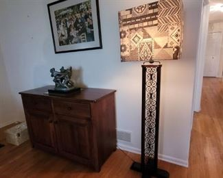 Lamps and decor