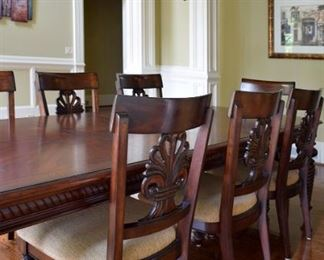 Dining Room table with eight (8) chairs