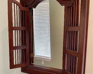 "5.   English Shuttered window mirror • 35""x 24"" • $59"