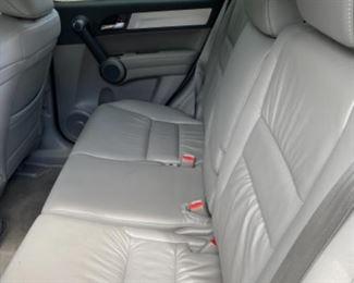 2011 Honda CR-V - Red-  interior Grey - 70,616 miles - Good condition.