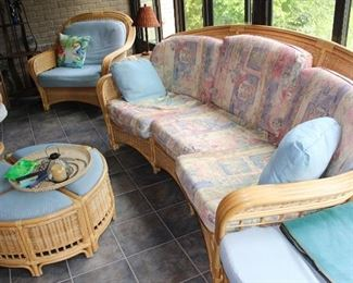 Rattan porch set, exceptional quality