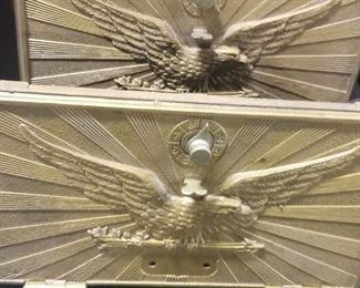Vintage Brass Post Office Box Plates