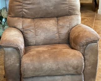 La-Z-Boy Microfiber Recliner Reclining Chair #140x37x33inHxWxD