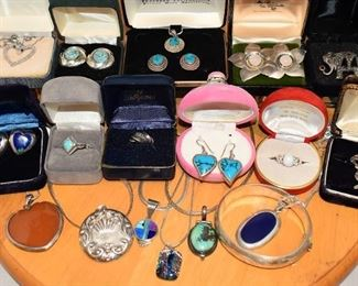 SOME of the Sterling Jewelry