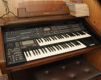 Technics Electric Twin keyboard PCM Sound EX10L Organ