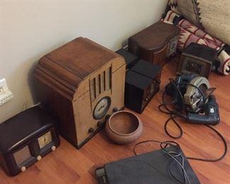 Antique radios.