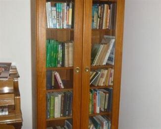 Teak 2-door cabinet