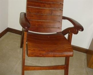 Triconfort Rosewood Folding Chair..gorgeous!! Made for outdoors
