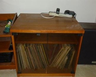Mid-Century Teak cabinet (can be used for anything)