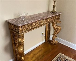 Console, Lamp and accessories