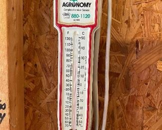 Agronomy Advertising Thermometer