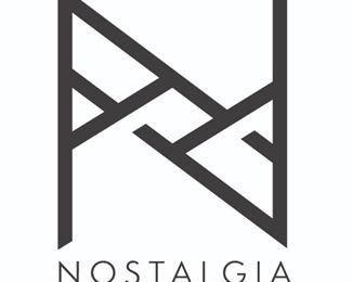 Nostalgia Logo Box Black