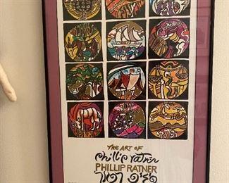 """BUY NOW!!!!  """"Art of Phillip Ratner"""" Print  14"""" W x 22"""" H;   $185"""