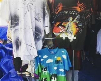All over print Tees - Jimmy Z, Liquid Blue ben & Jerrys, Metallica