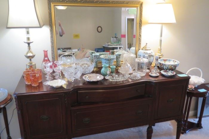 bow front buffet