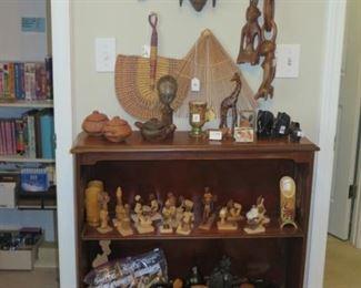 african carvings, figures