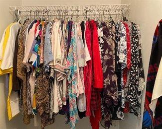 Cloths are plus sizes
