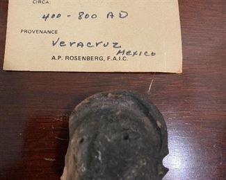 Ancient head fragments