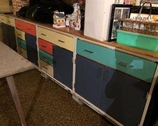 Retro metal cabinets