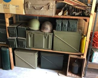 Military helmets with lining, great condition