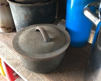 Cast iron cookware of all kinds