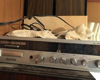 Panasonic stereo with speakers