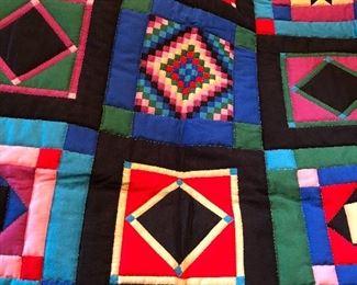 Handmade small quilt