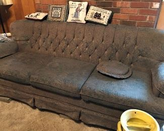 2 Couches, one love seat