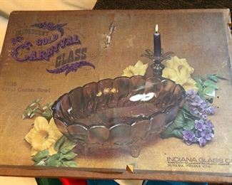 Vintage Indians carnival in box