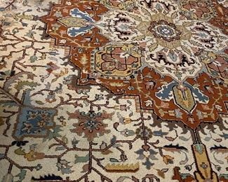 The LR 24 x 14 oriental rug