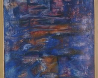 Oil on canvas, original artwork by Rogelio Canizales