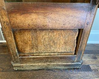 18th c. tall case clock
