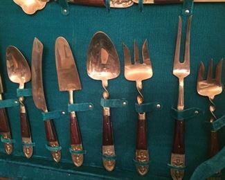 Amazing brassware set from Thailand.