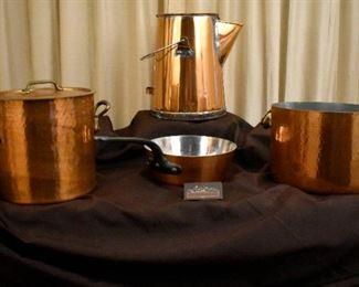 Williams Sonoma France Copper Cookware