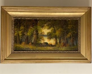 Oil on Canvas - 32.5x20