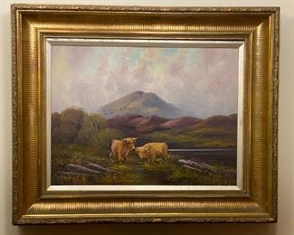 Oil on Board - 27x22 - R.A. Murray