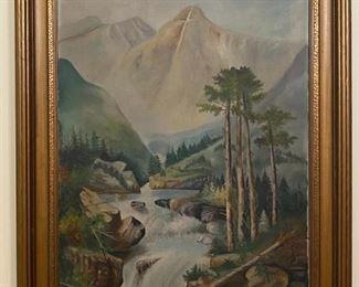 Oil on Canvas - 31x42 - IHD '26