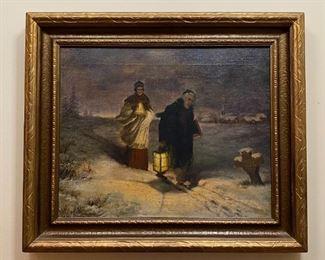 Oil on Canvas - 26x22