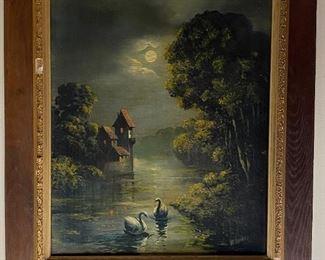 Oil on Canvas - 28x25 - Okolowicz