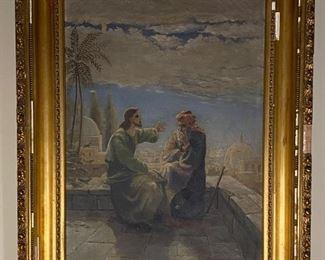 Oil on Canvas - 25.5x28.5 - A. Larsen '98