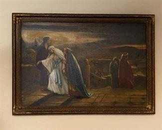 Oil on Canvas - 34x24 - John M. Kavanaugh