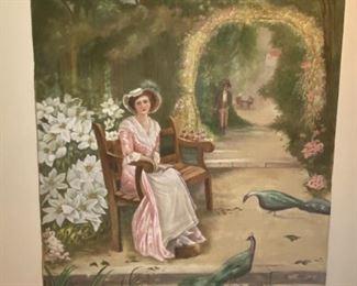 Oil on Canvas - 50x74 - Lucille Thorpe Aug. '31