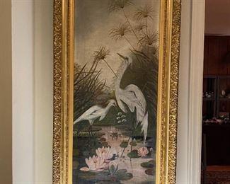 Oil on Canvas - 20.5x43