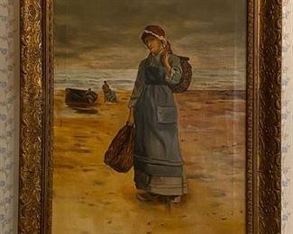 Oil on Canvas - 19x21