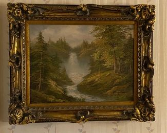 Oil on Canvas - 21x17 - Kingsman