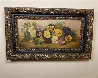 Oil On Canvas - 24.5x14.5